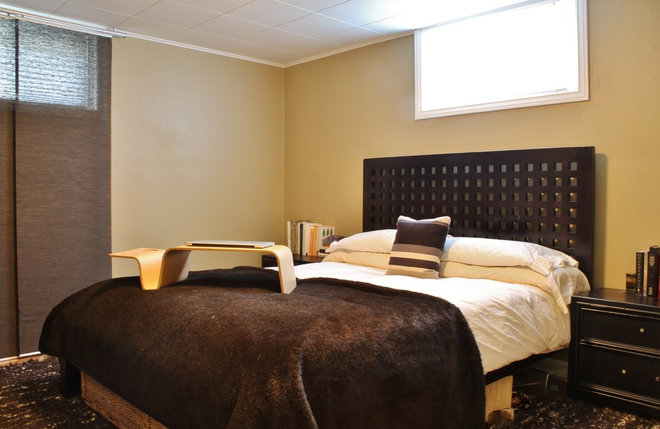 Contemporary Bedroom by Kimberley Bryan