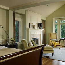 Traditional Bedroom by Hilary Young Design Associates