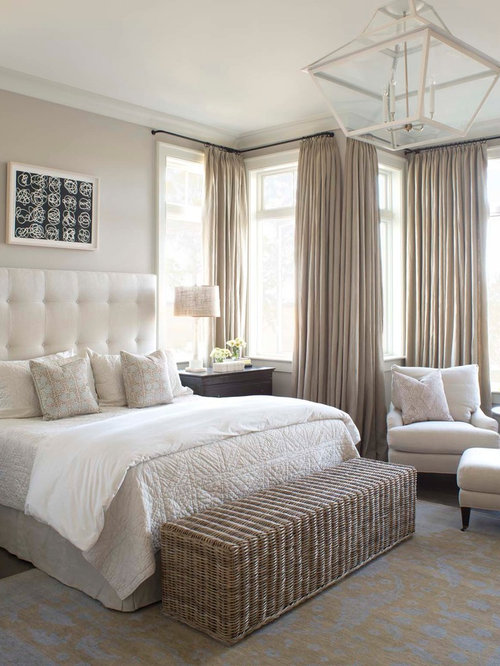 Beach Style Bedroom Ideas Part - 42: Inspiration For A Beach Style Bedroom Remodel In Charleston
