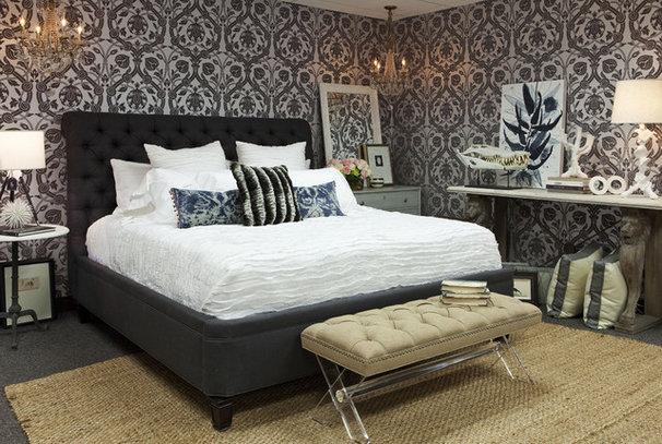 Contemporary Bedroom by Martha O'Hara Interiors