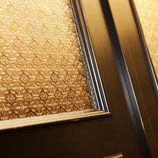 Craftsman Bedroom Martin Basement - Guest Bedroom Custom French Doors
