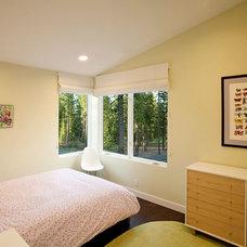 Contemporary Bedroom by sagemodern