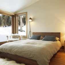 Rustic Bedroom by sagemodern