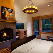 Traditional Bedroom by Crestwood Construction Inc.