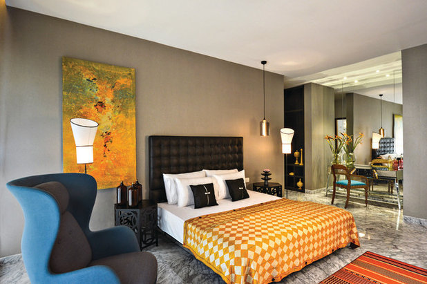 Contemporary Bedroom by Prachi Damle Photography