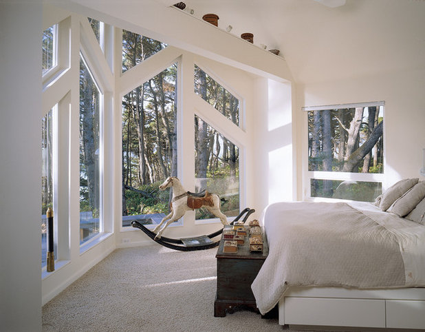 Contemporary Bedroom by D.K. Boos Glass Inc