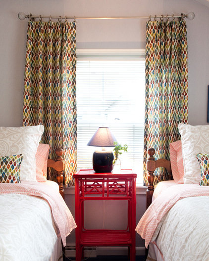 Eclectic Bedroom by Mary Best Designs