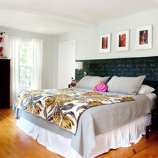 Eclectic Bedroom by Mary Prince Photography