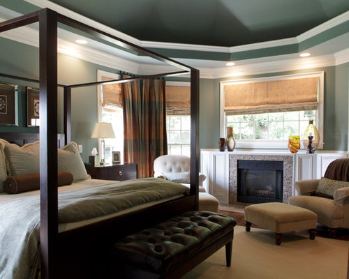 Ceiling paint color houzz Master bedroom ceiling colors