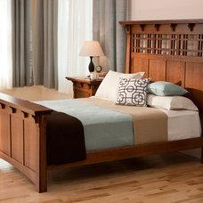 Craftsman Bedroom by Woodbine Furniture
