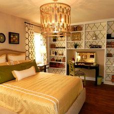 Eclectic Bedroom by Lynn Madyson, ASID, IFDA, NKBA