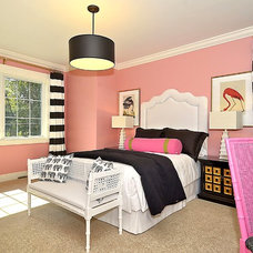 Eclectic Bedroom by Maryland Paint & Decorating