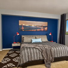 Contemporary Bedroom by Mackenzie Collier Interiors