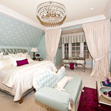 Traditional Bedroom by Donna Lasconi  with Window Covering Workroom