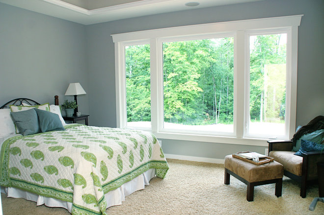 Traditional Bedroom by Green Apple Design