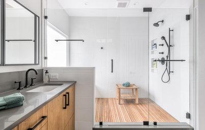 Bathroom of the Week: Clean Modern Style for a Master Bath