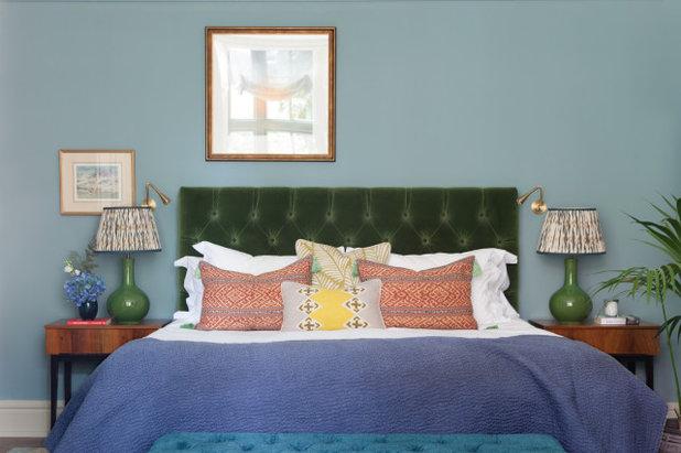 エクレクティック 寝室 by Brooke Copp-Barton | Home Interior Design
