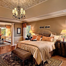 Traditional Bedroom by Mark Henninger