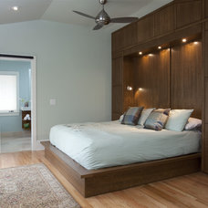 Modern Bedroom by Tongue & Groove