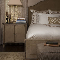 Traditional Bedroom by Jenny Van Stone Interior Design