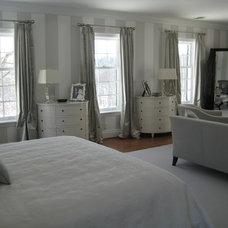 Traditional Bedroom by Maggie Kopf