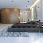 Master Bed Contemporary Bedroom Phoenix By