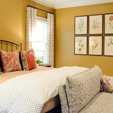Transitional Bedroom by Alexis Solomon Design Studio