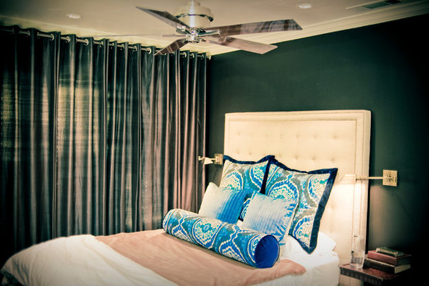 Contemporary Bedroom by Amy Lambert Lee
