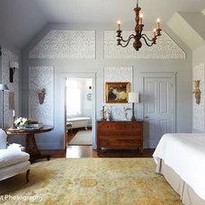 Eclectic Bedroom by Meredith L. Bohn Interior Design