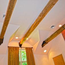 Rustic Bedroom by Andrew Robbins Fine Custom Homes, Inc.