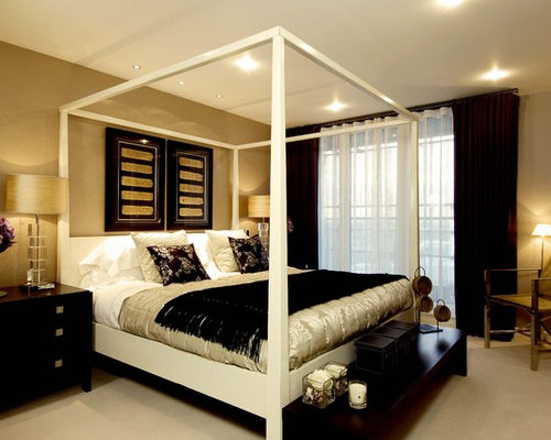 Best black and gold bedroom design ideas remodel for Black gold bedroom designs