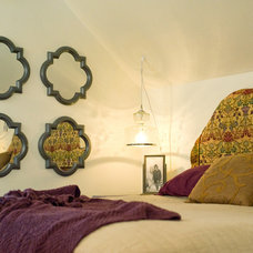 Eclectic Bedroom by Anna Berglin Design