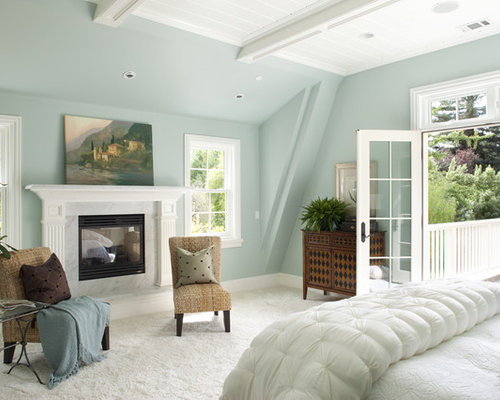 photos of master bedrooms benjamin woodlawn blue houzz 16643