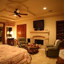 Mediterranean Bedroom by Asomoza Homes - Design Build