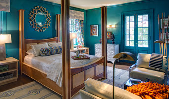 Master Bedroom at Baltimore Symphony Associates 2015 Decorators Show House