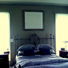 Contemporary Bedroom by Barbara Ann Holmes - Lintels & Lallies