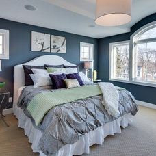 Traditional Bedroom by Mark Teskey Architectural Photography