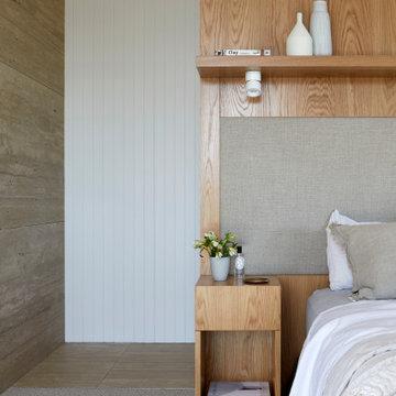 Master bedroom bedhead
