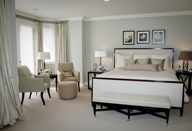 Transitional Bedroom by Beverly Bradshaw Interiors
