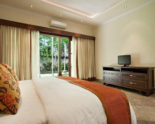 asiatische schlafzimmer mit marmorboden ideen design. Black Bedroom Furniture Sets. Home Design Ideas