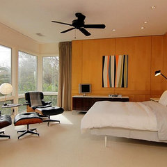 modern bedroom by Built Incorporated