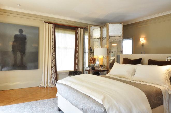 Contemporary Bedroom Master Bedroom by BIGELOW + SILVER