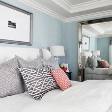 Eclectic Bedroom by Casey Grace Design, LLC