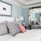Million Dollar View Eclectic Bedroom Orange County