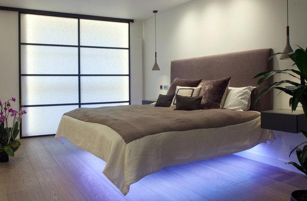 Contemporary Bedroom by Cassidy Hughes Interior Design