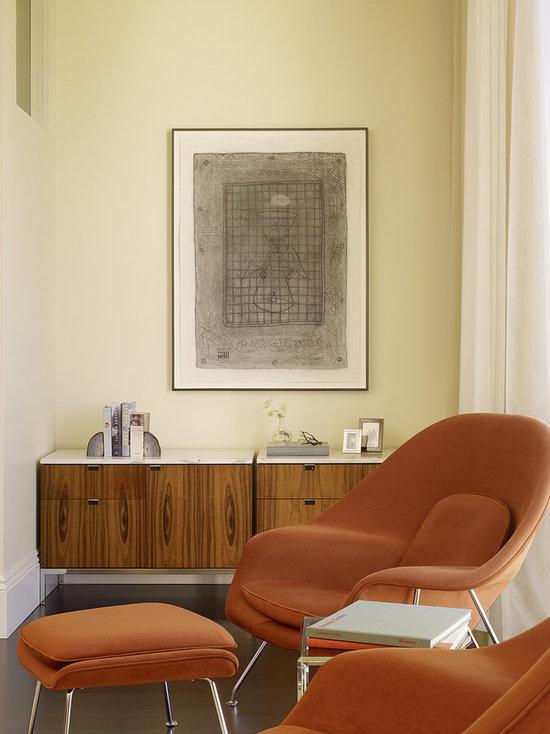 burnt orange bedroom design ideas, remodels & photos | houzz