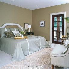 Modern Bedroom by Christian Tennant Custom Homes