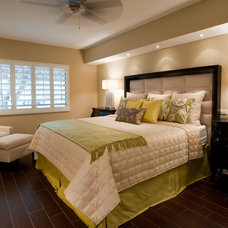 contemporary bedroom by Christopher Scott Designs