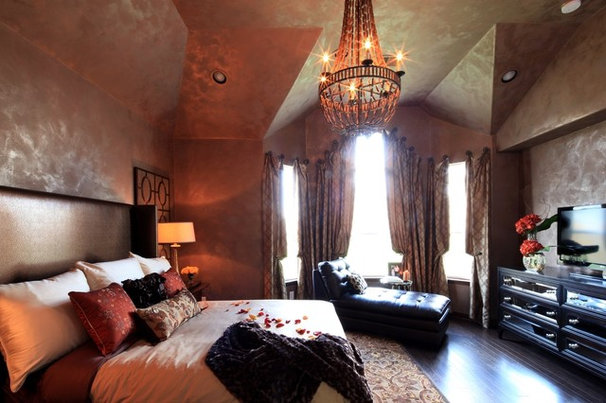 Eclectic Bedroom by Cindy Aplanalp-Yates & Chairma Design Group