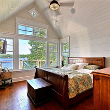 Traditional Bedroom by Clarke Muskoka Construction